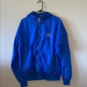 Royal Blue Wind Breaker